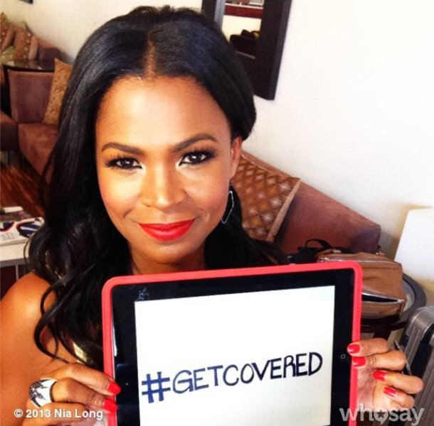 #GetCovered! Kerry Washington, Lady Gaga, Nia Long & More Celebs Promote Obama Care