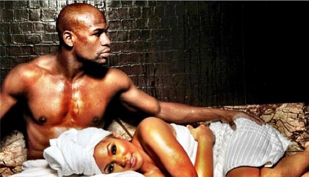 Floyd Mayweather & Fiance Shantel Jackson Reminisce On Instagram, Seem Unfazed About Love Triangle Rumors