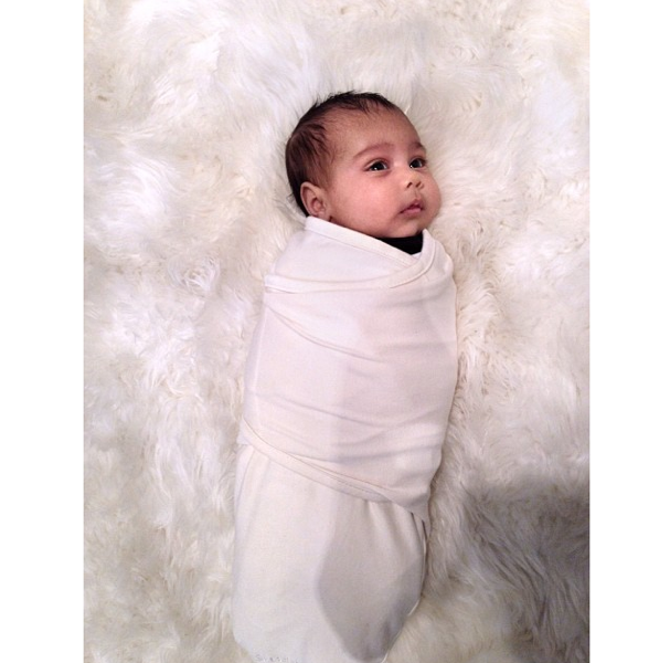 Kim Kardashian Unveils A New Photo of Baby North West, Kerry Washington Hits GMA, 50 Cent Promotes New Project+ More Celeb Stalking