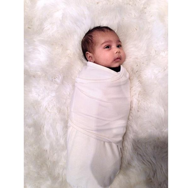 Kim Kardashian Unveils A New Photo of Baby North West, Kerry Washington Hits GMA, 50 Cent Promotes New Project+ More Celeb Stalking