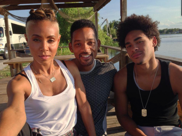 Jada-Pinkett-Smith-Will-Smith-Trey-Smith-The-Jasmine-Brand