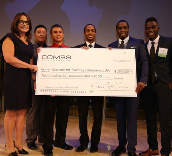 Sean-Diddy-Combs-Donates-To-NFTE-The-Jasmine-Brand