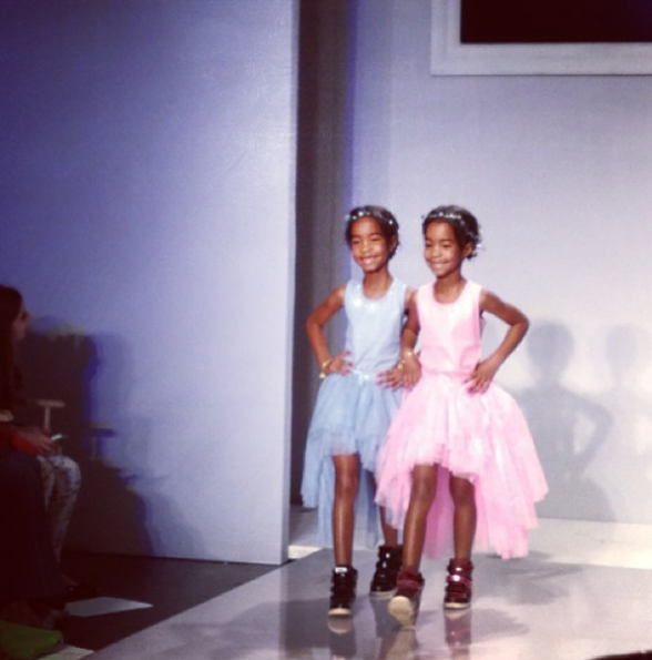 Diddy's-Daughters-Jesse-D'lilah-Runway-Debut-The-Jasmine-Brand