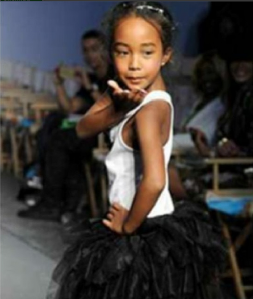 Diddy's-Daughter-Chance--Runway-Debut-The-Jasmine-Brand