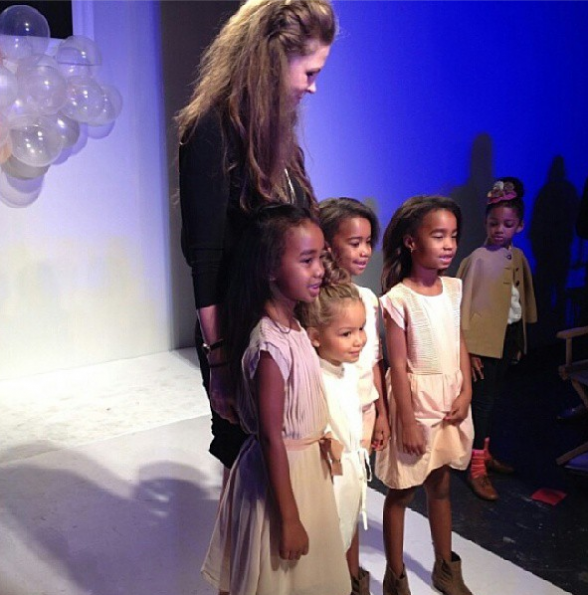 Diddy's-Daughters-Jesse-D'lilah-Runway-Debut-4-The-Jasmine-Brand