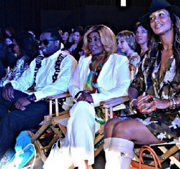 Diddy's-Daughters-Sarah-Chapman-Janice-Combs-Runway-Debut-The-Jasmine-Brand