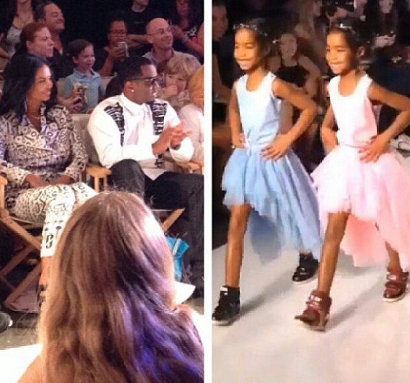 Diddy's-Daughters-Jesse-D'lilah-Runway-Debut-3-The-Jasmine-Brand