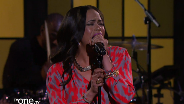 [WATCH] Faith Evans Performs On TV One's 'Verses & Flow'