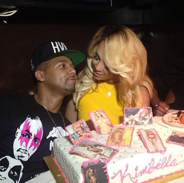 Kimbella-Juelz Santana-Celebrate Birthday-2-NYC-The Jasmine Brand