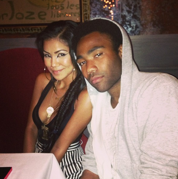 Donald Glover Girlfriend Donald glover-jhene