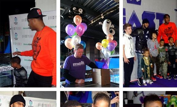 [Photos] Swizz Beatz's 6-Year-Old Son Launches 'Kaseem's Dream': Mashonda, Jennifer Williams, Carmelo Anthony & More Attend