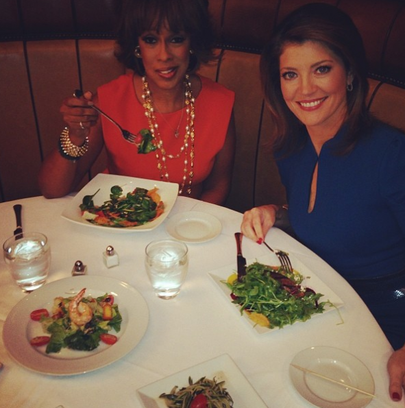 Gayle-King-Norah-O-Donnell-Lunch-The Jasmine-Brand
