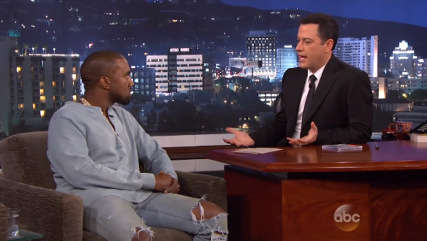 [WATCH] 'It's Not Safe For You In this Zoo': Kanye West Appears On 'Jimmy Kimmel Live'