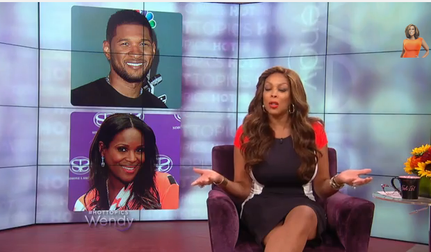 [WATCH] Wendy Williams Criticizes Tameka Raymond For Lusting Over Ex Husband Usher: Make Up Your Mind!