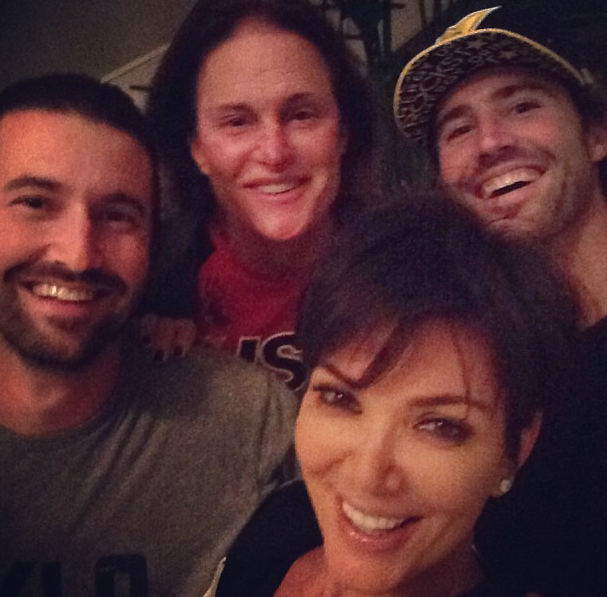 Bruce & Kris Jenner Answer Critics With Instagram Love, NFL'er Ray Edwards Gets Bucket Naked With Plus Size Model + More Celeb Stalking
