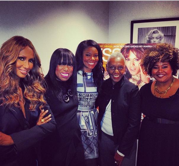 Black Beauty! Gabrielle Union, Viola Davis, June Ambrose, Iman & Others Attend Essence Magazine Upfronts