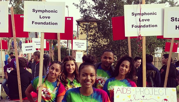 [Photos] Community Dopeness: Karrueche Tran & Anthony Anderson Attend AIDS Walk Los Angeles