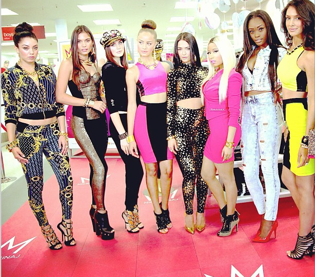 [Photos] Nicki Minaj Unveils Models For Her K-Mart Collection