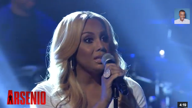 [WATCH] Tamar Braxton Performs 'All the Way Home' On Arsenio Hall