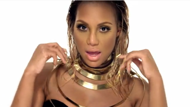 [WATCH] Higher Heels, Longer Weaves & Tighter Leather Tamar Braxton Releases 'Hot Sugar' Video