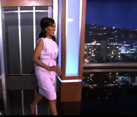 [WATCH] Baby Bump M.I.A., Kerry Washington Visits 'Jimmy Kimmel Live'