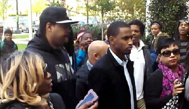 [VIDEO] Chris Brown Hearing Causes Drama Inside & Outside Court Room, Trey Songz Attends