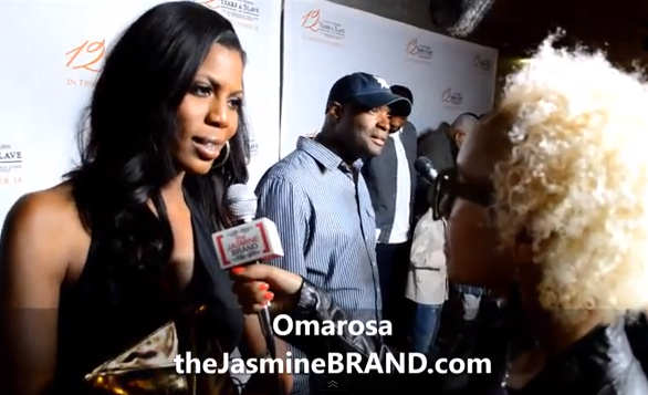 Omarosa at 12 Years of Slavery Premiere