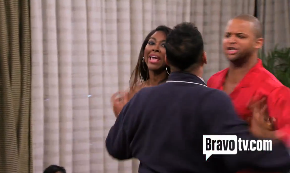 [Video] Is Kandi Burruss' Fiance A Cheating 'Opportunist'? + Kenya Moore Allegedly Caught Sexting Apollo In Latest RHOA Trailer