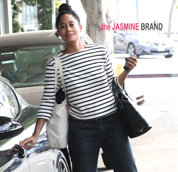Tracee Ellis Ross Leaves the Gym, Amber Rose Visits 'Bethenny', Mariah Carey Does Press Run + More Celeb Stalking