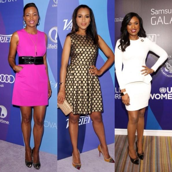 aisha tyler-kerry washington-jennifer hudson-Variety's 5th Annual Power of Women 2013-the jasmine brand