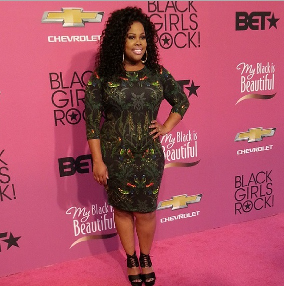 amber riley-black girls rock 2013-the jasmine brand