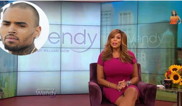 [WATCH] Chris Brown Calls Wendy Williams An 'Old Plastic Surgery, Flunky'
