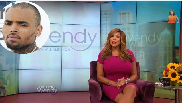 WATCH] Chris Brown Calls Wendy Williams An 'Old Plastic Surgery