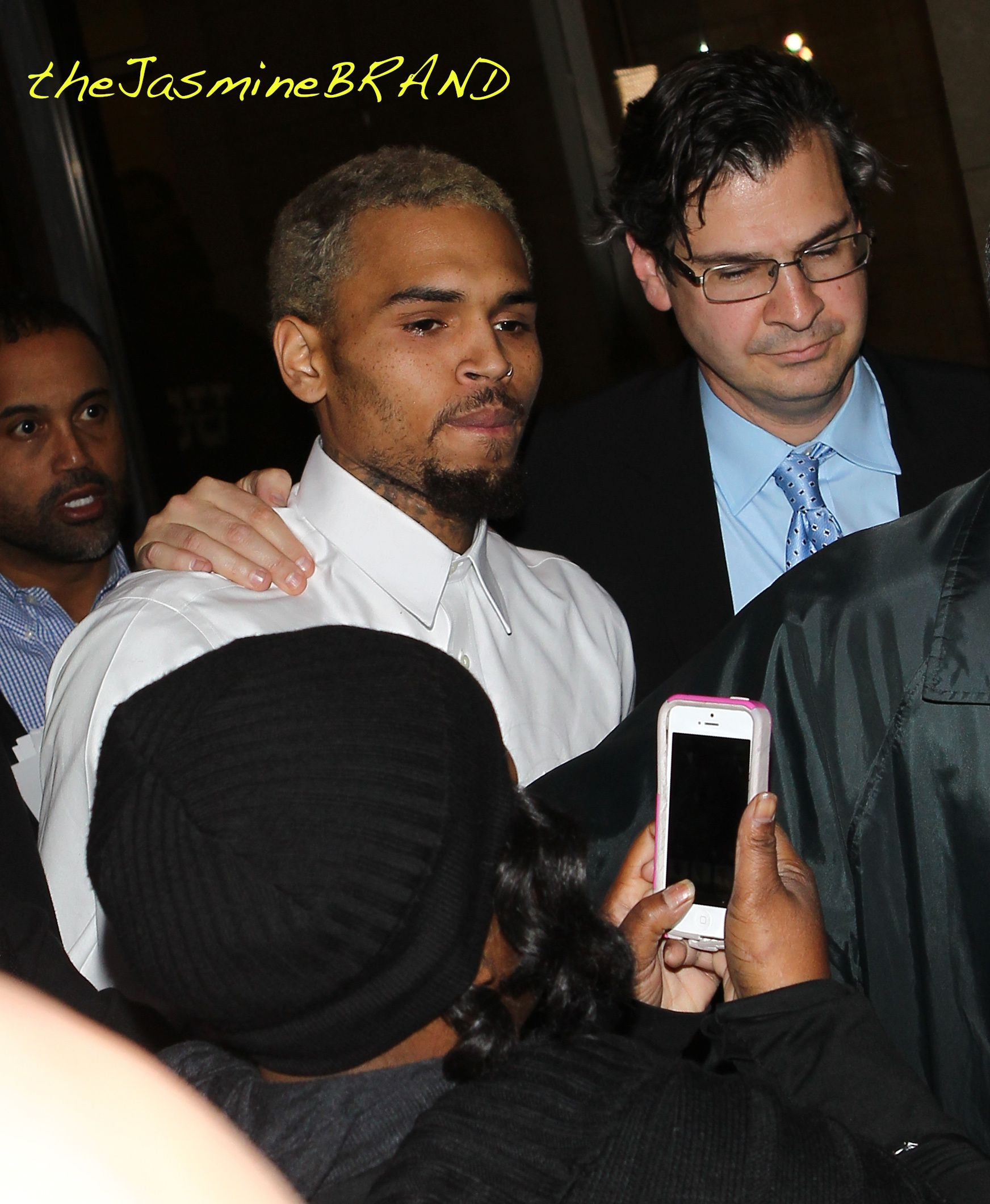 Chris Brown leaves DC courthouse