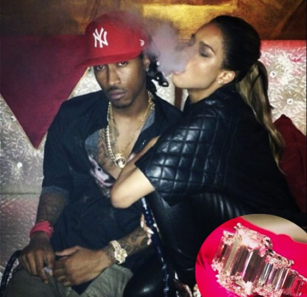 [Photos] Bling, Bling! Ciara Shows Off Her 15 Carat Engagement Ring