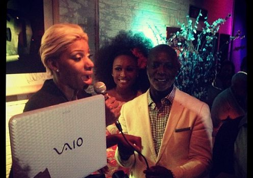 [Photos] RHOA's Peter Thomas Celebrates Caribbean Themed B-Day Bash With Cynthia Bailey, NeNe Leakes & Friends