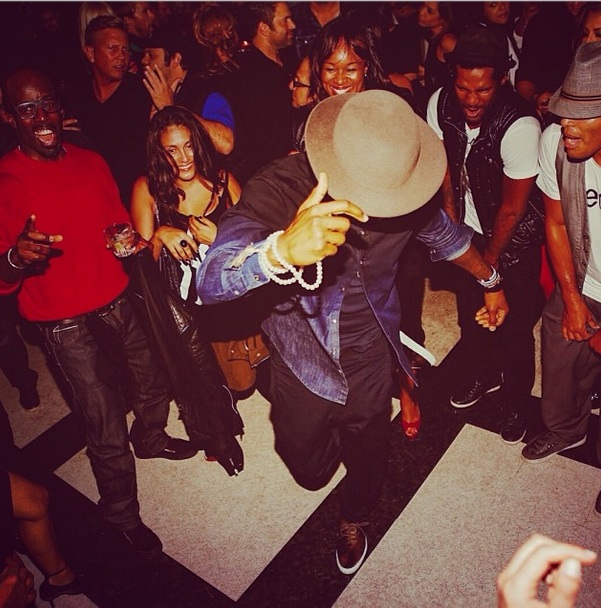 dance machine-usher-35th birthday party-the jasmine brand