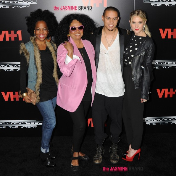 """Cast plus TLC members arrive for premiere of """"CrazySexyCool: The TLC Story"""" in NYC"""