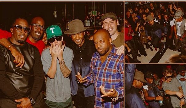 Forever Young! Justin Bieber, Diddy, Sugar Ray Leonard Help Usher Celebrate 35th Birthday