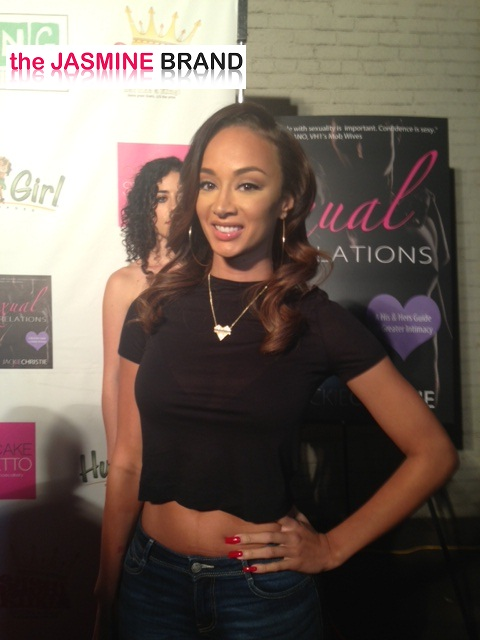 draya michele-jackie christie book launch-basketball wives-the jasmine brand