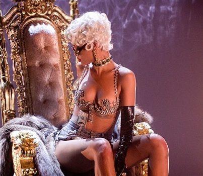 More Scantily Clad Photos of Rihanna's 'Pour It Up' Video