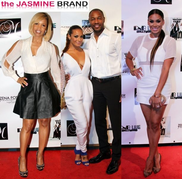 Zena Foster Throws Hollywood Birthday Party With Boyfriend Tank, Elise Neal, Gloria Govan & Celeb Friends