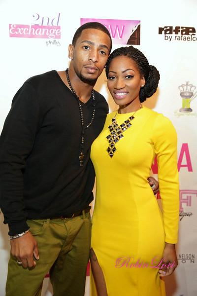erica dixon-and boyfriend-love and hip hop atlanta-women of atlanta-breast cancer fashion show-the jasmine brand