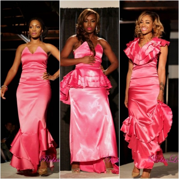 erica dixon-quad lunceford webb-mimi faust-women of atlanta-breast cancer fashion show-the jasmine brand