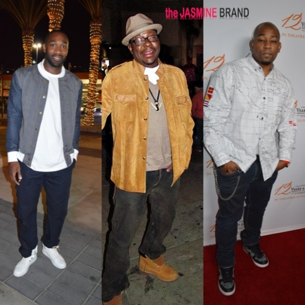 gilbert arenas-bobby brown-dennis white-celebrity photos-the jasmine brand