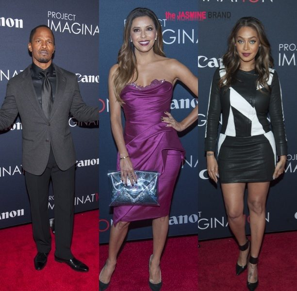 Jamie Foxx, Lala Anthony & Eva Longoria Attend Project Imagination, Bridget Kelly Performs In ATL + Reality Stars Attend TLC Screening