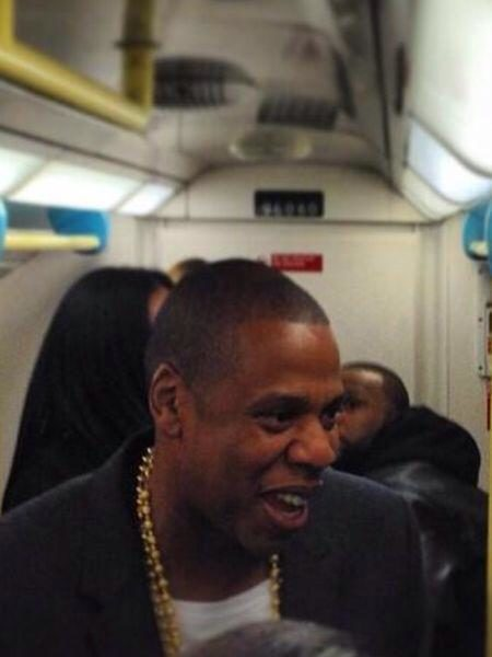 [Photos] Jay Z Skips Car Service, Rides London Tube To Concert With Timbaland, Chris Martin & Friends