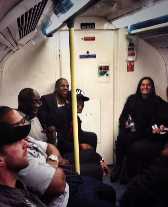 jay z-timbaland-michael kaiser-ride london tube-the jasmine brand