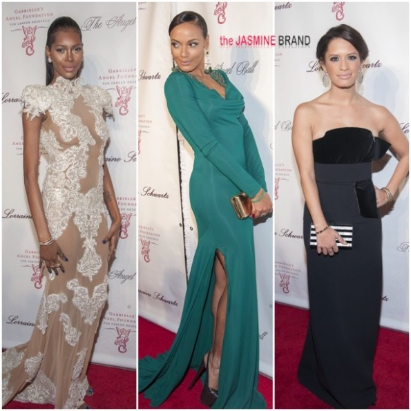 jessica white-selita ebanks-rocsi diaz-the angel ball 2013-the jasmine brand