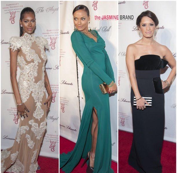 Red Carpet Left Overs: Jessica White, Selita Ebanks & Rocsi Diaz Attend Angels Ball